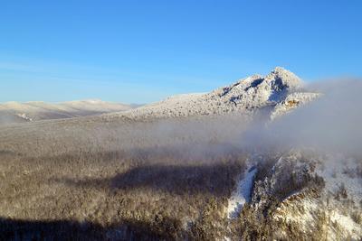 Яман-тау горы Урал природа