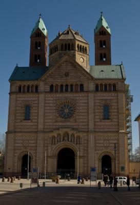 Фронт кафедрльного сбора Святой Богородицы в Шпейер (Speyer - Spira - Novimagus))