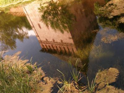 * башня, пруд, Смоленск