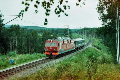 *** Башкортостан Башкирия железная дорога поезд Южный Урал пленка