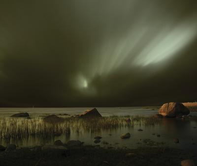 Сон Финского залива № 15 см. лучше на черном, длинная выдержка, E-510, ZD 14-42