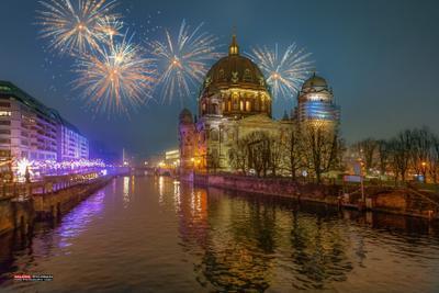 Берлинский кафедральный собор. Новый год