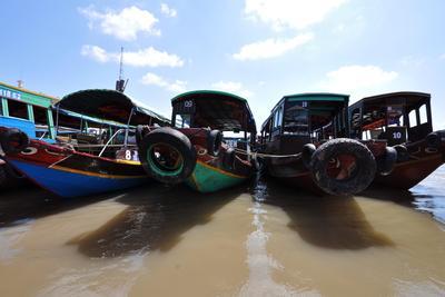 На старт! река лодка меконг вьетнам путешествия