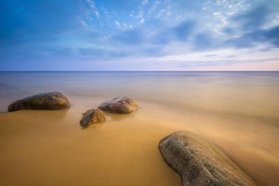 Про синее небо, чистый песок и запах морской воды Балтика, море, песок, камни, пляж