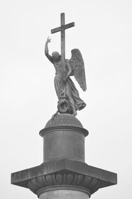 *** Александровская колона дворцовая площадь Санкт_Петербург Россия Ангел