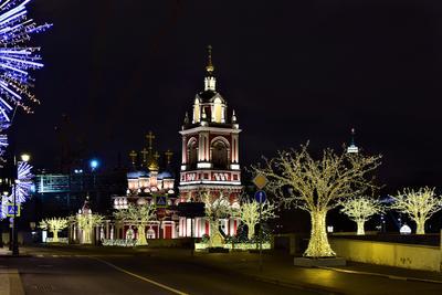Праздничная Варварка улица утро праздник столица иллюминация