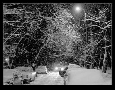 Вот зима вспомнилась зима