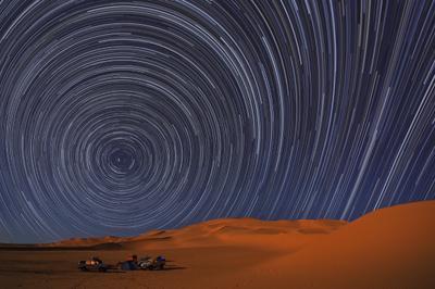 360 кадров Ливия, Сахара, Звёзды