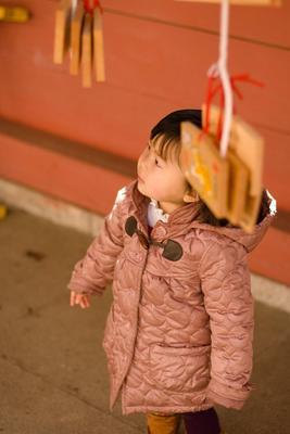 """""""... быть по-моему вели..."""" девочка, храм, эма, Япония, мечты"""