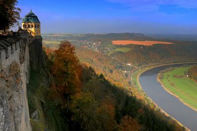 Есть в осени первоначальной... Саксония Осень