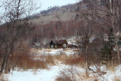 Одинокий дом байкал ангасолка деревня кбжд