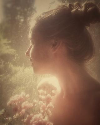автопортрет селфи портрет профиль автопортрет цветы