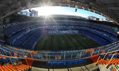 Estadio Santiago Bernabéu Стадион Мадрид Испания