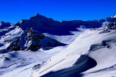 Затишье на склонах. Кавказ горы Эльбрус
