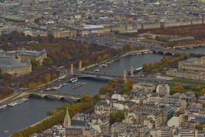 Мост Александра III и Площадь Согласия, Париж площади мосты места париж ноябрь 2017 осень
