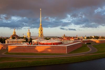 Санкт-Петербург: Петропавловская крепость Санкт-Петербург Петропавловская крепость рассвет утро