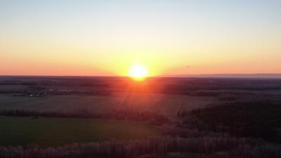 Закат в Подмосковье закат солнце