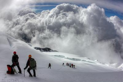 Связанные одной целью... горы белуха