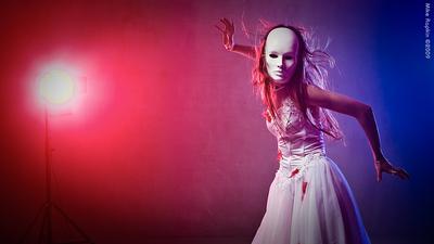 Сбежавшая невеста маска