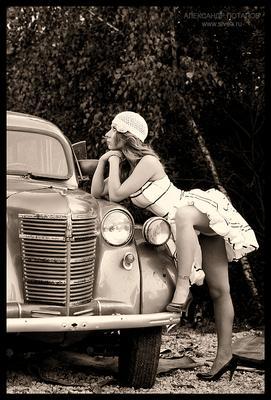 ... мысль ... девушка авто