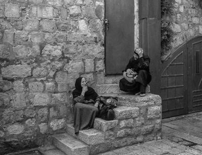 Встретились..., не наговорятся женщины разговор израиль