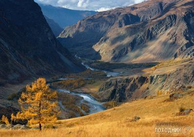 Долина реки Чулышман. Горный Алтай Алтай осень пейзаж фото-тур