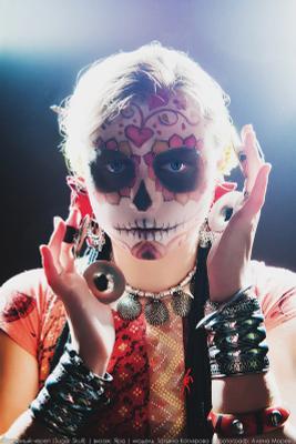 Sugar Skull watches you