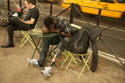 Times Square - устал
