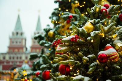 Охладимся... Москва город новый год
