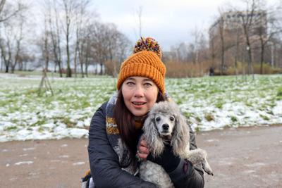 Девушка с собачкой Татьяна Волкова певица собачка Куракина дача