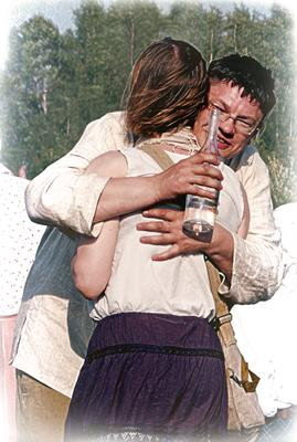 Встреча с любимой... бутылка водки встреча с любимой любовь