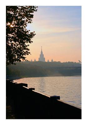 Московские зарисовки - *** Университет Нескучный сад Ленинские горы