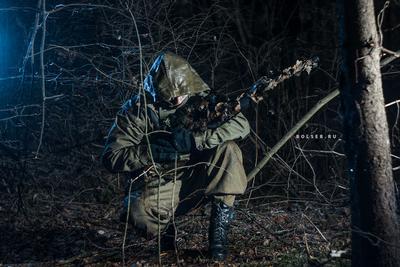 Охотник лес охота