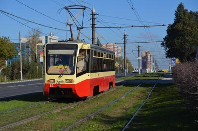 63(2) Тула трамвайный вагон 63 Модель 71-619КТ Подарок из Москвы