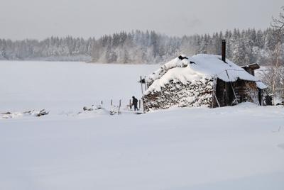 Банька. Банька зима
