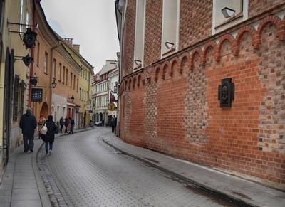 Тихая улочка старого города