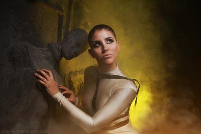 В мире Аида аид мир другой иной портрет темная студия дарк готик фетиш бдсм агна деви