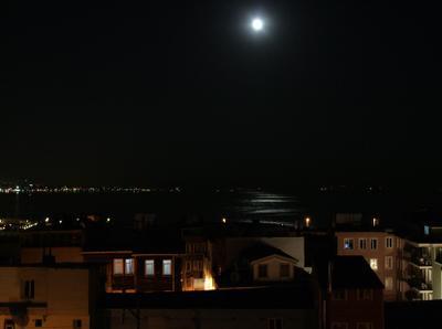 Босфор ночью