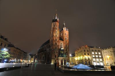 Bazylika Mariacka Poland Polska Miasto City Cracow Kraków Польша Краков