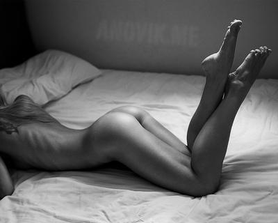 *** ню nude кровать девушка