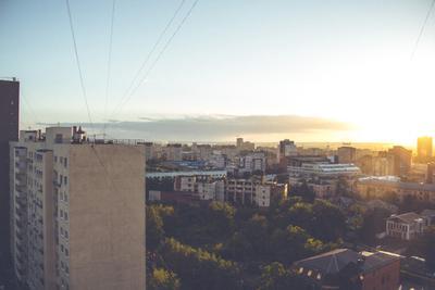 31 августа Город Пермь Солнце Лето