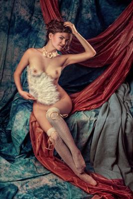 *** ART NUDE BODY CLASSIC WOMAN ILLUSTRATOVA