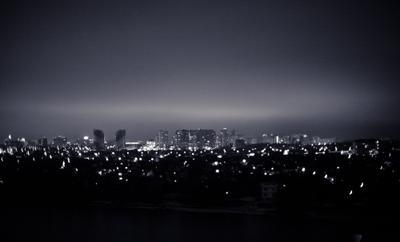 Ночной Югополис в Дыхании Зимы