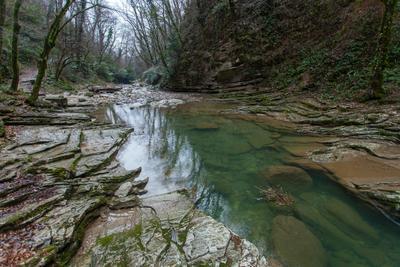 Почти как много лет назад... Агурское ущелье река Агурка Сочи