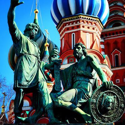 ***Минин и Пожарский Минин и Пожарский Красная площадь Москва