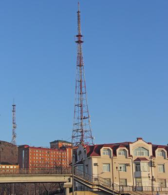 """Владивосток. Сопка """"Орлинное гнездо"""". Телевышка"""