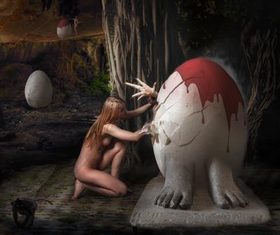 Тайна красного яйца