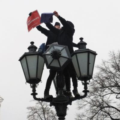 Над этой темною толпой... (Ф. Тютчев) митинг митингующие пушкинская площадь