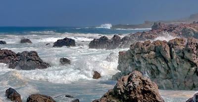 ***  Атлантический бушует... атлантика шторм побережье волны стихия океан