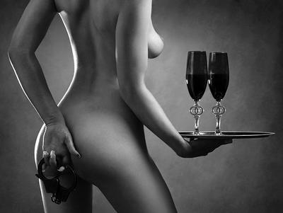 начнем с вина
